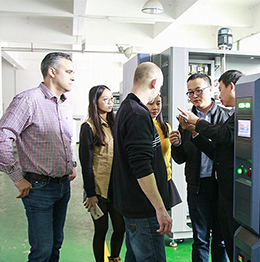 European client came for lab environmental testing chamber