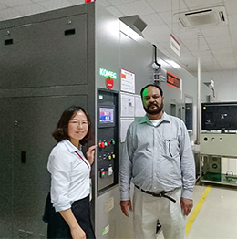 Customer from Pakistan bought temperature and humidity testing chamber