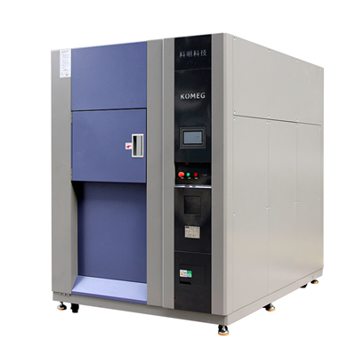 Three Zone Thermal Shock Chamber, Item KTS-100A Hot and Cold Temperature Testing Solution