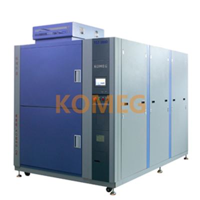 Three Zone Thermal Shock Chamber, Item KTS-100D Cold and Hot Temperature Testing Chamber